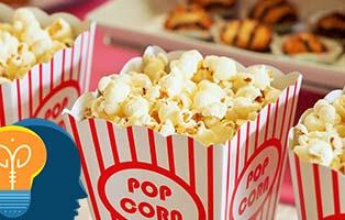 palomitas de maíz cine