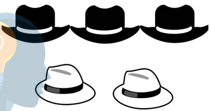 Acertijos de los sombreros